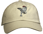 Dilophosaurus Embroidered Cap - Khaki