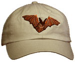 Bat Embroidered Cap