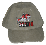 Koi Embroidered Cap - Khaki Unstructured Cap