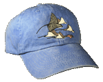 Stingrays Embroidered Cap - Royal Unstructured Cap