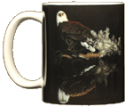 Bald Eagle Reflection Ceramic Mug