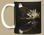 Bald Eagle Reflection Ceramic Mug