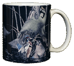 Wood Ducks Ceramic Mug - Back