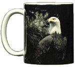Bald Eagle Ceramic Mug - Front