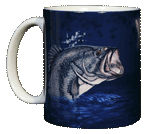 Large Mouth Bass Ceramic Mug