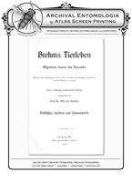 Brehms Tierleben BF & Beetles Pond Reproduction Print