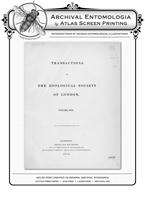 TZSL Vol XVII PL VI Lepidoptera Reproduction Print