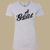 G.O.A.T. Ladies T-shirt