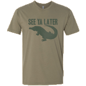 See Ya Later Alligator Unisex T-shirt