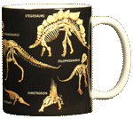 Bones Ceramic Mug - Back