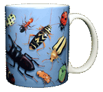 Bug Wrap Ceramic Mug - Back