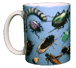Bug Wrap Ceramic Mug