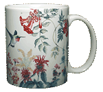 Hummer Garden Ceramic Mug - Back