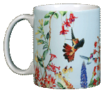 Hummer Gardne Ceramic Mug  (blue)