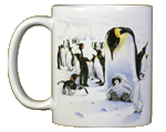 Penguins Ceramic Mug