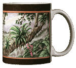 Macaw Ceramic Mug - Back
