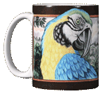 Macaw Ceramic Mug