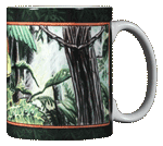 Tree Frog Ceramic Mug - Back