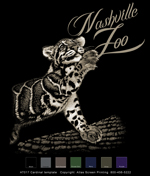 Clouded Leopard Custom Template - Black