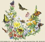 Butterflies of NA Adult T-shirt