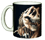T-Rex Skeleton Ceramic Mug