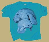 Manatee Hug Youth T-shirt