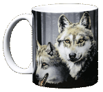 Wolves Ceramic Mug