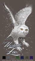 Snowy Owl Custom Template - Chocolate