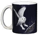 Snowy Owl Ceramic Mug