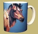 Horses Ceramic Mug