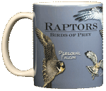 Birds of Prey Ceramic Mug - Front