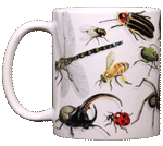 Backyard Arthropod Ceramic Mug