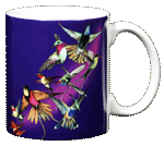 Hummer Splash Ceramic Mug - Back