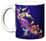 Hummer Splash Ceramic Mug - Front