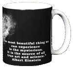 Einstein's Bicycle Ceramic Mug - Back