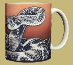 Rattler Ceramic Mug - Back