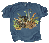 Snakezz Adult T-shirt - Front