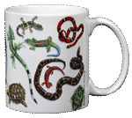 Herp Wrap Ceramic Mug - Back