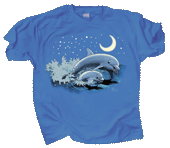 Dolphin Moon Youth T-shirt