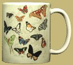 Butterflies of the World Ceramic Mug test8
