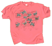 Race For Survival Adult T-shirt (Coral)