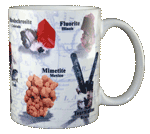 Minerals of the World Ceramic Mug