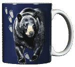 Bear Trax Ceramic Mug - Back