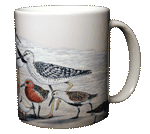 Shorebirds Ceramic Mug - Back