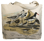 Shorebirds Canvas Tote