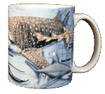 Sharks of the World Ceramic Mug - Back