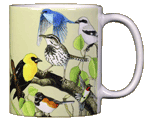 Back Country Birds Ceramic Mug - Back