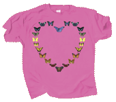 Butterfly Heart Youth T-shirt - Front