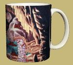 Cave Ceramic Mug - Back
