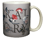 Natural History Ceramic Mug - Back